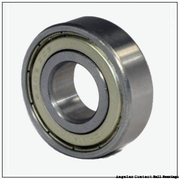 0.591 Inch | 15 Millimeter x 1.654 Inch | 42 Millimeter x 0.748 Inch | 19 Millimeter  EBC 5302 2RS  Angular Contact Ball Bearings